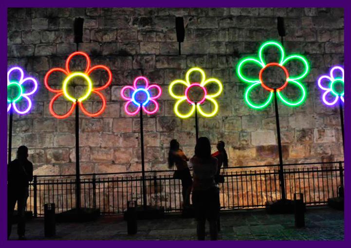 Световые композиции «Цветы»