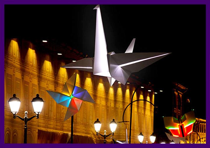 Светящиеся фигуры для города