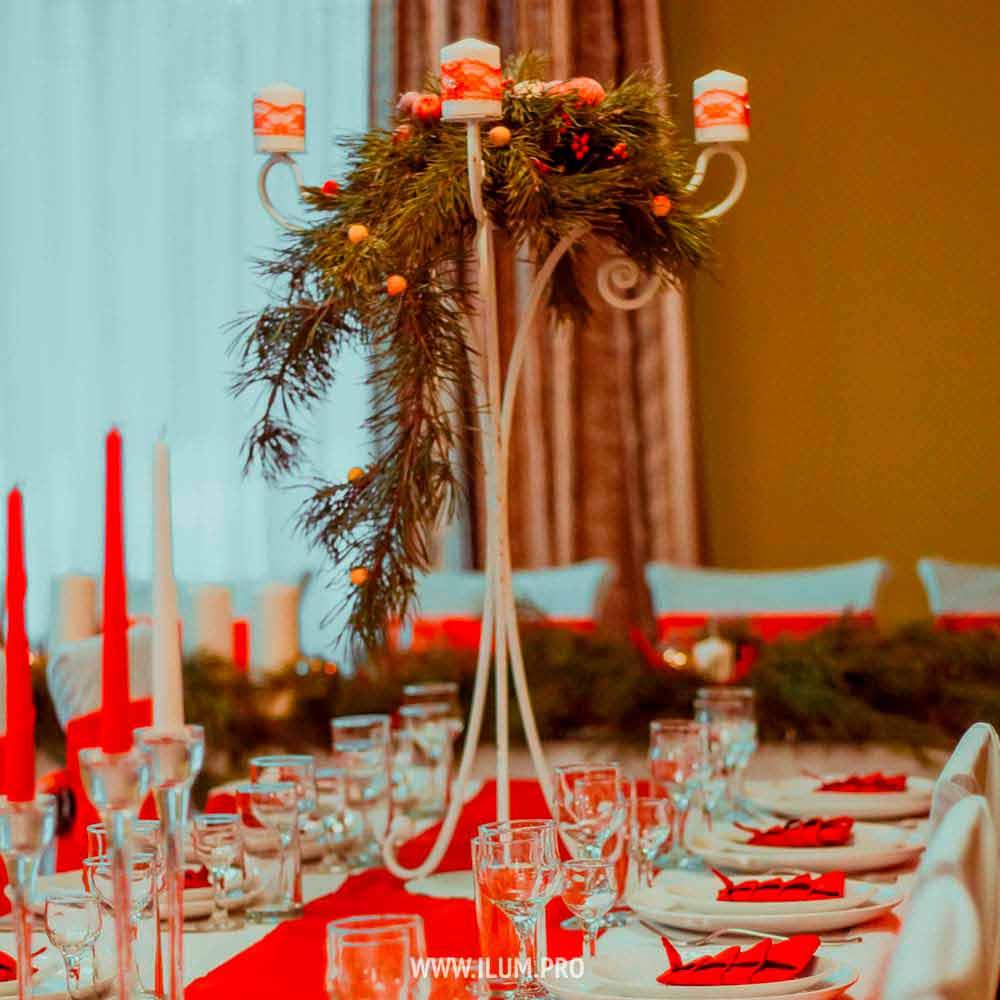Декор икомпозиции для новогоднего стола