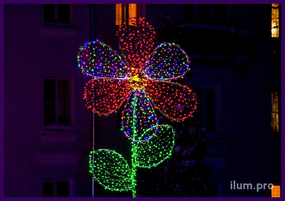 Светодиодная композиция «Цветок»