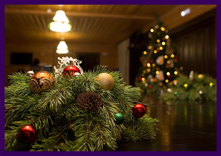 Новогодний декор для украшения помещения