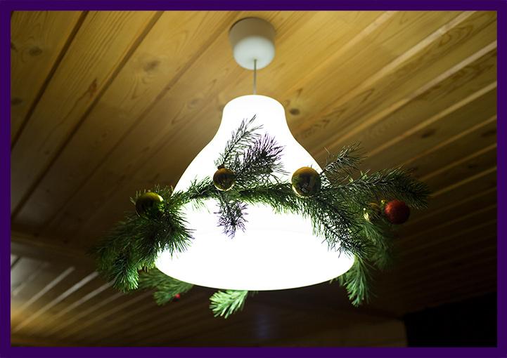Украшение помещения к Новому году и другим праздникам