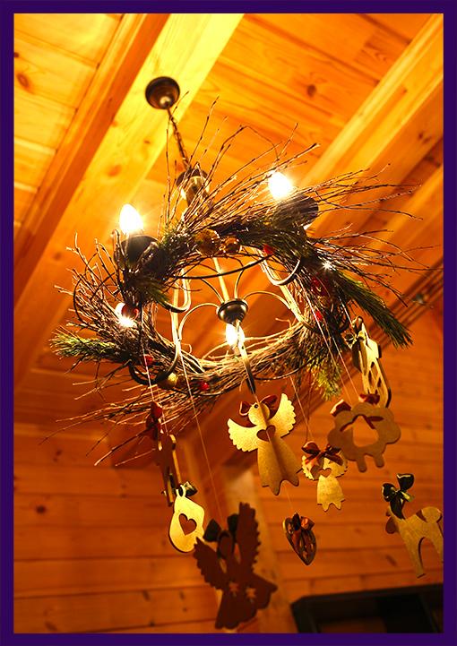 Декор для дома на Новый год
