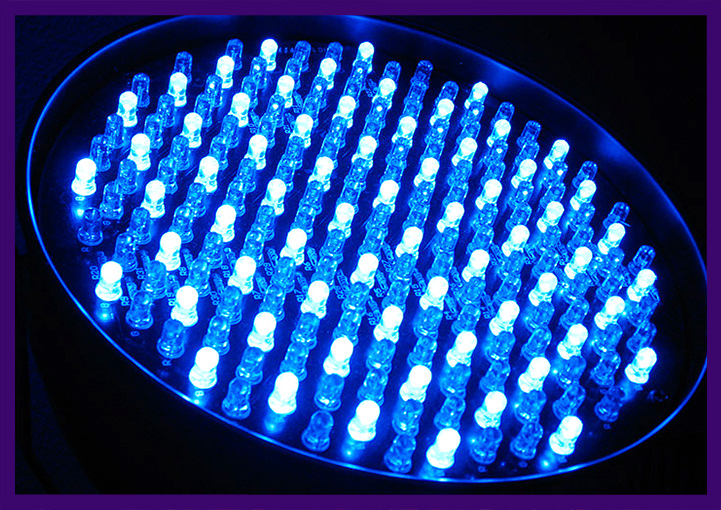 Светодиодный прожектор с DMX