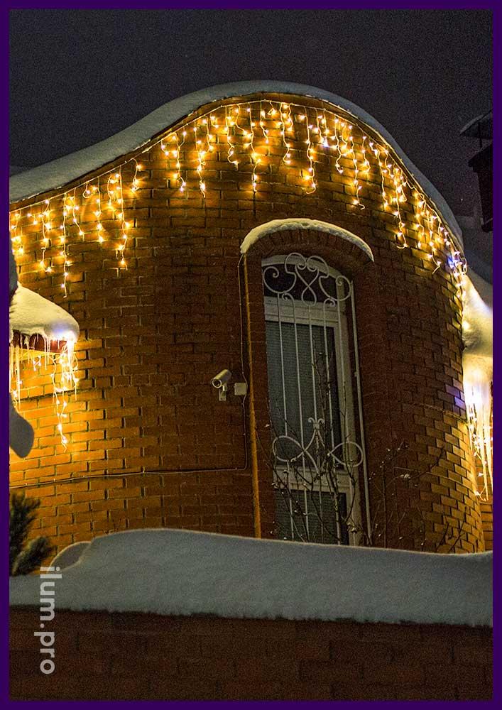 Украшение дома к Новому году