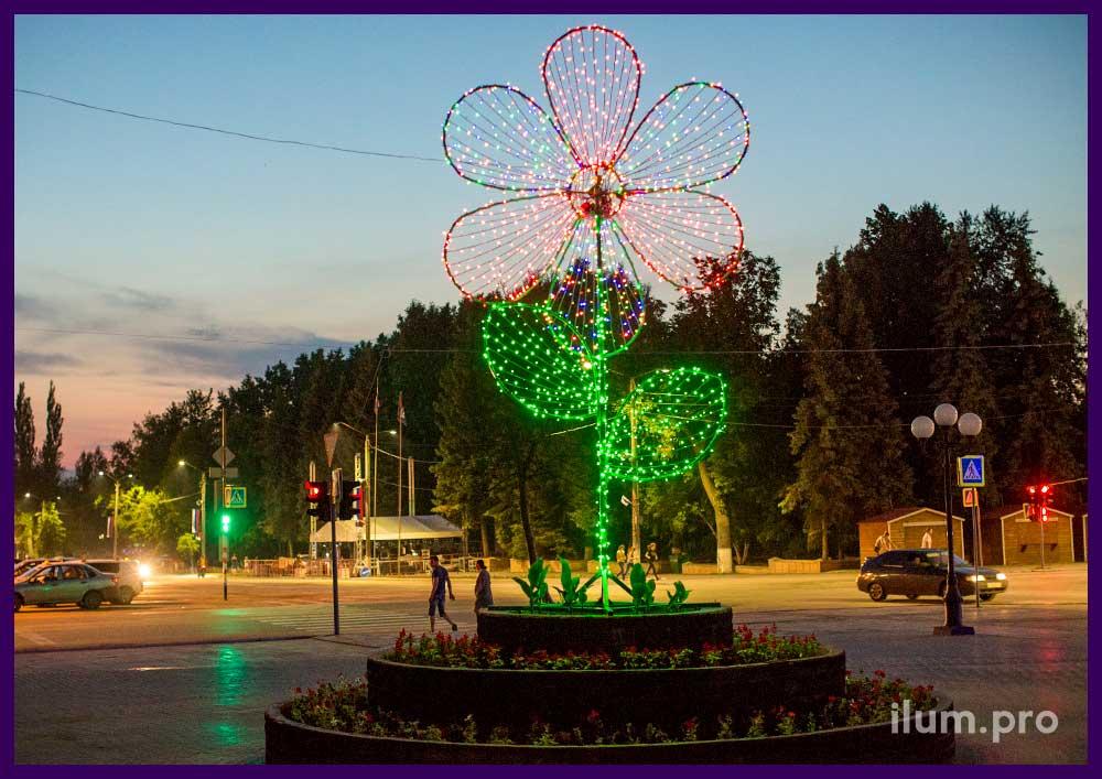 Светодиодная фигура для города
