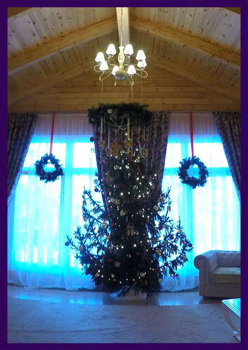 Новогодняя ёлка в доме