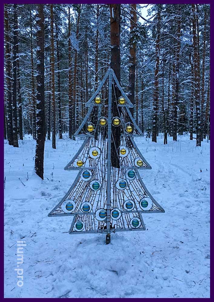 Производство иллюминации и декора для Нового года