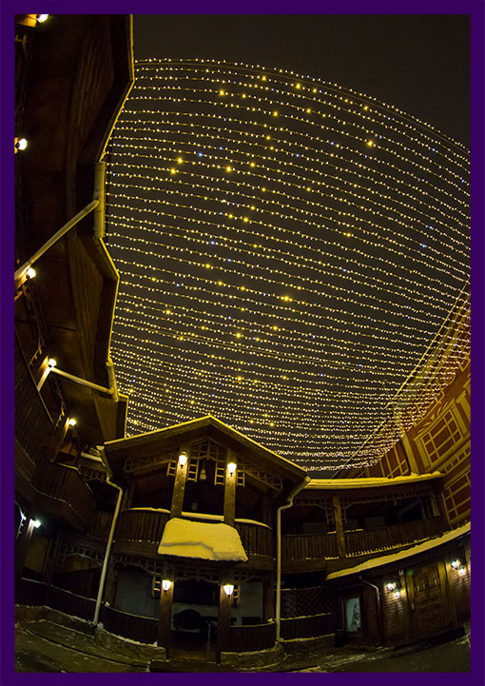 Новогодняя иллюминация в Иваново