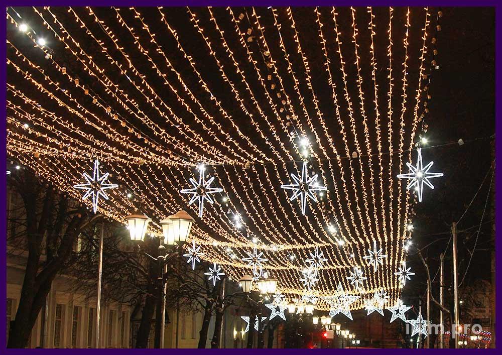 Рязанский Новый год на улице Почтовая