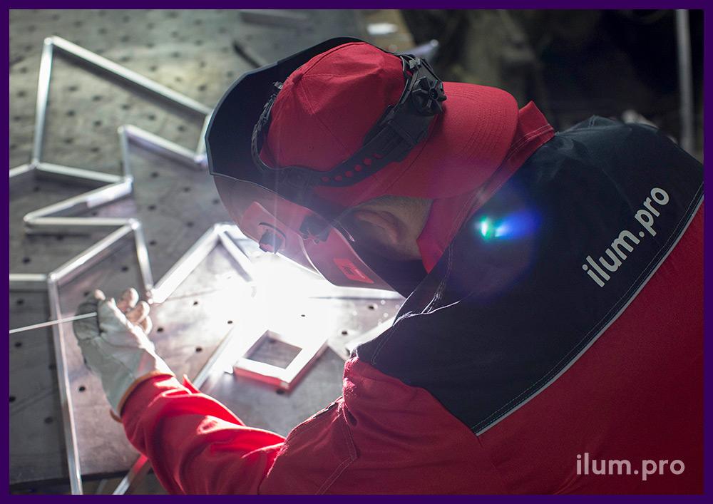 Завод производства светодиодных консолей