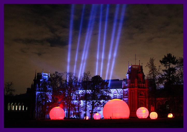Фестиваль света в Царицыно