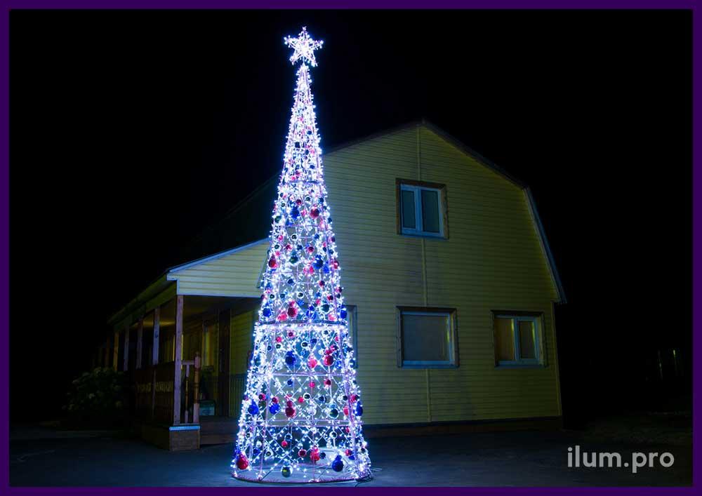 Световые конструкции на Новый год