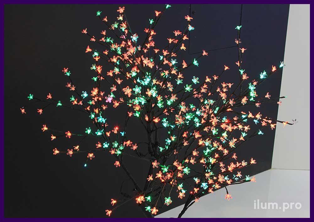 """Светодиодная """"Сакура"""" - дерево с LED подсветкой"""