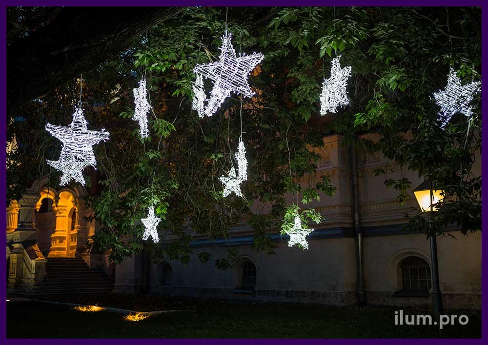 Световые звёзды для улицы и помещения