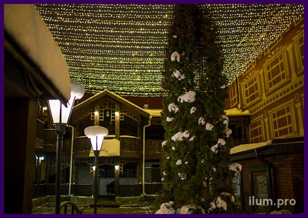 Светодиодная иллюминация для ресторана в Иваново