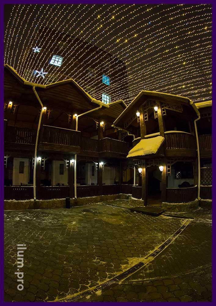 Звёздное небо в Иваново над рестораном Amsterdam