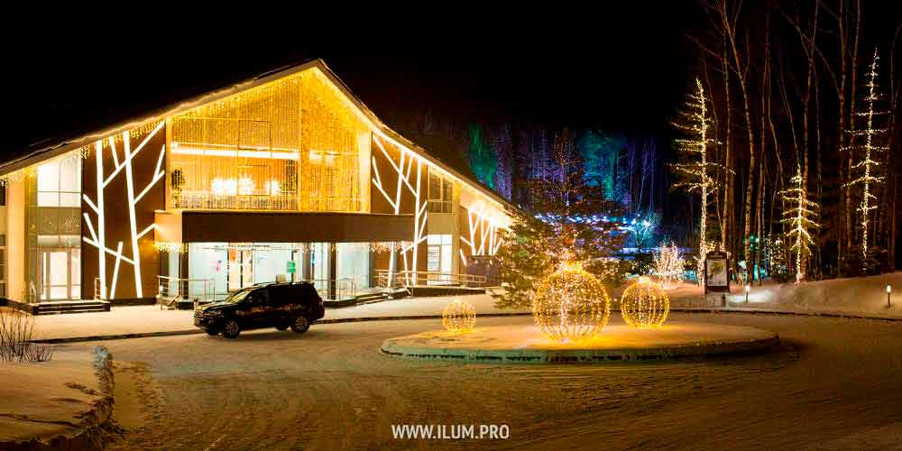 Проект новогоднего украшения Доброграда