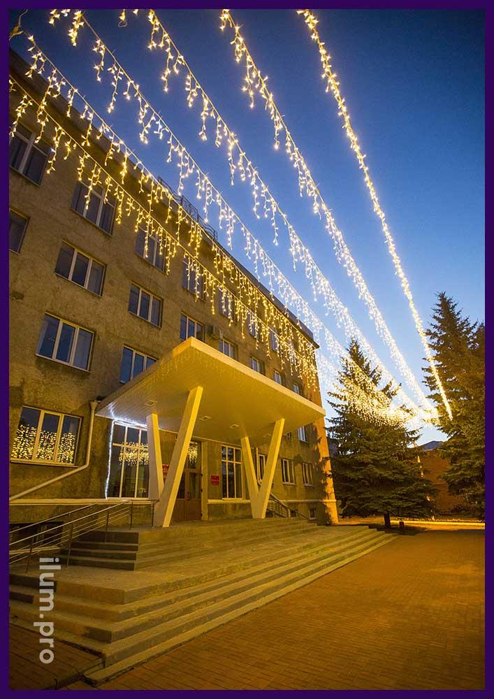 Светодиодные гирлянды в Нижегородской области