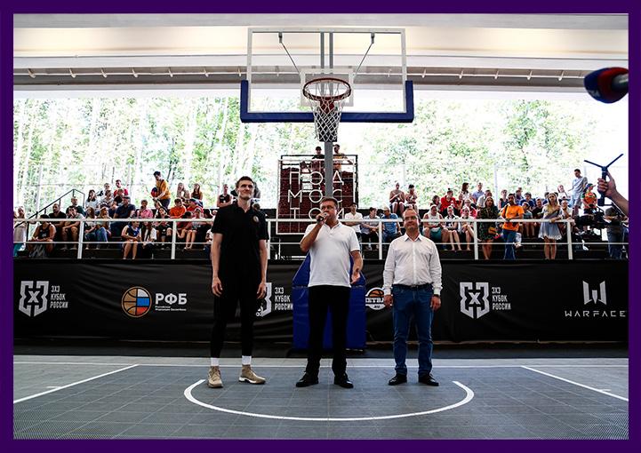 Открытие спортивного центра в Рязани. Фотозона с светодиодной консолью