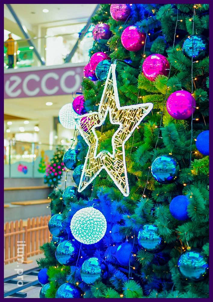 Украшения на Новый год в Иваново и области