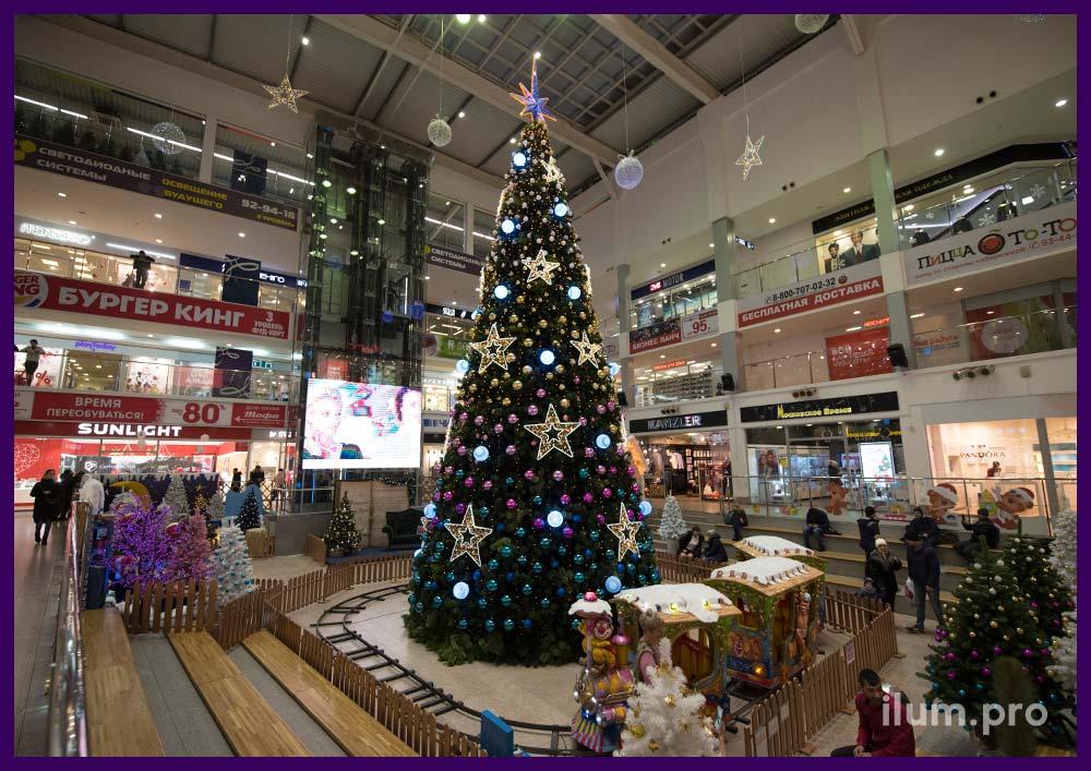 Светодиодная иллюминация в Иваново для украшения торговых центров