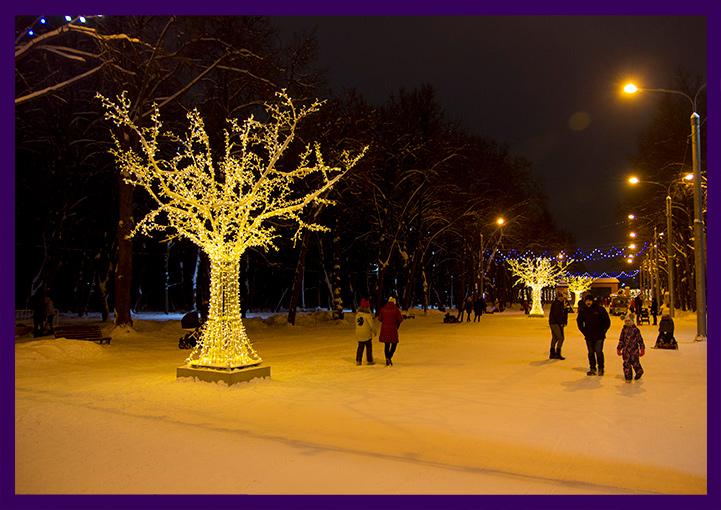 Фотозона на Новый год - дерево
