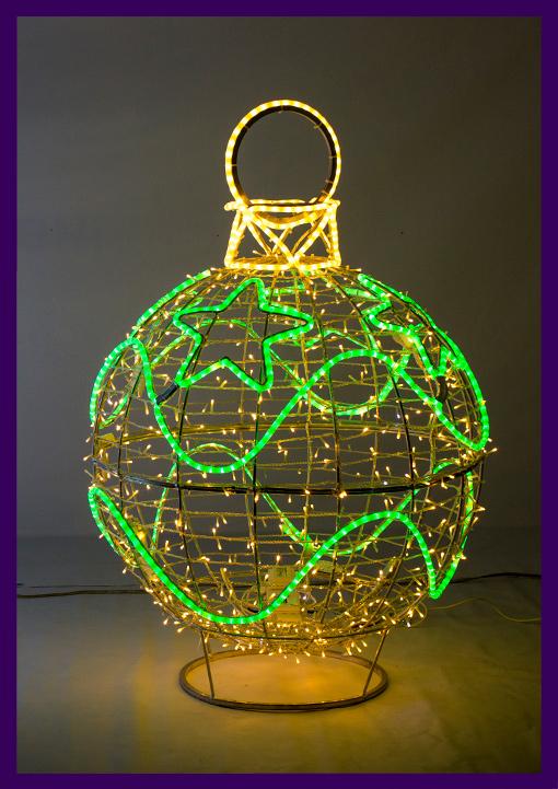 Фигура объёмная с подсветкой для украшения города на праздники