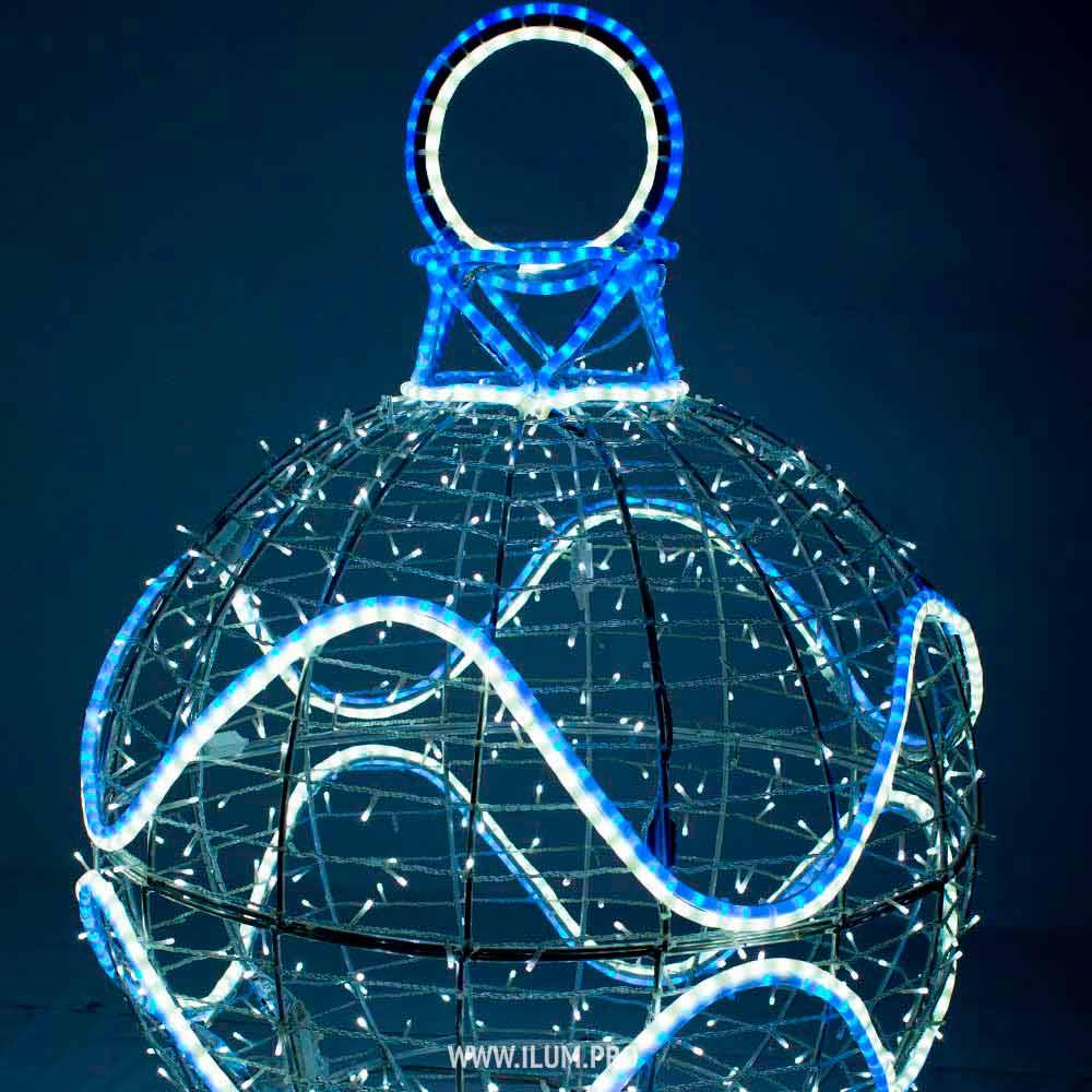 Световой шар «Ёлочная игрушка»