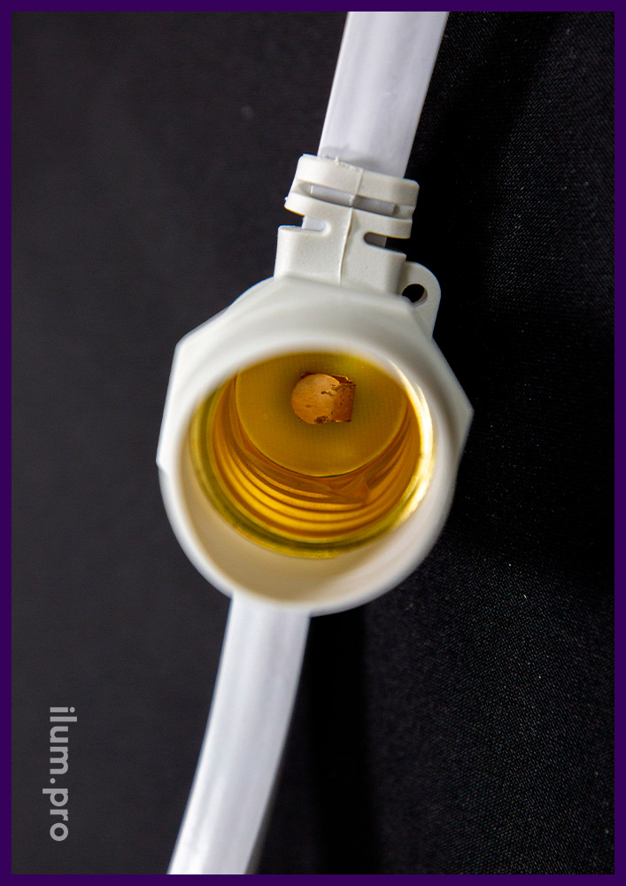 Патроны светодиодной гирлянды белтлайт с резиновым уплотнителем