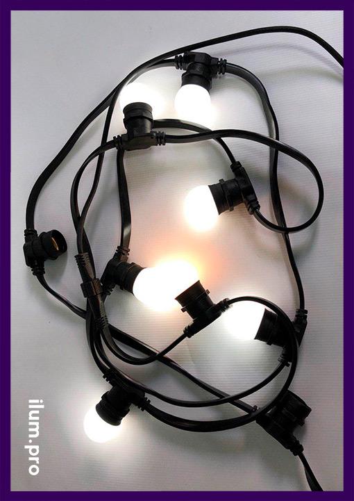 Яркие лампочки для белтлайта разных цветов