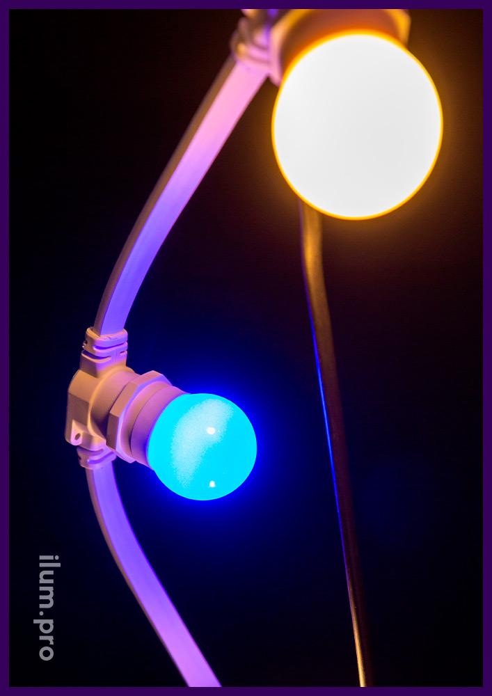 Лампа Е27 для гирлянды белтлайт мощность 1 Вт