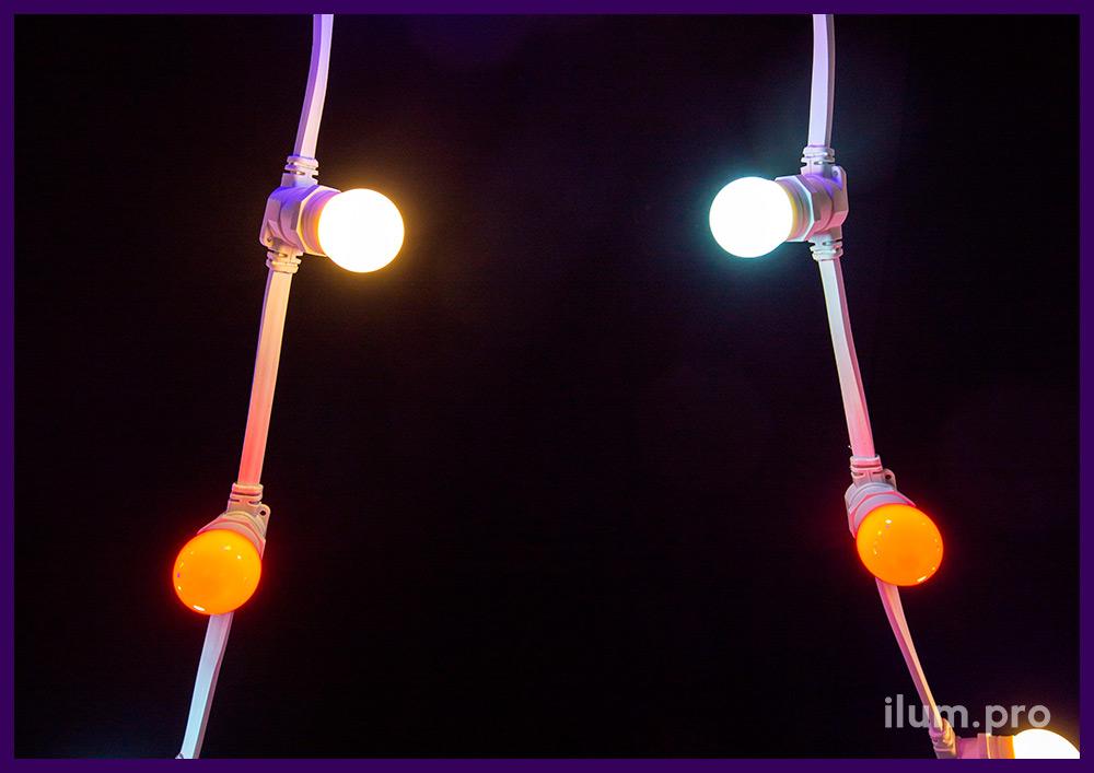 Уличная лампочка для гирлянды белтлайт мощностью 1 Вт