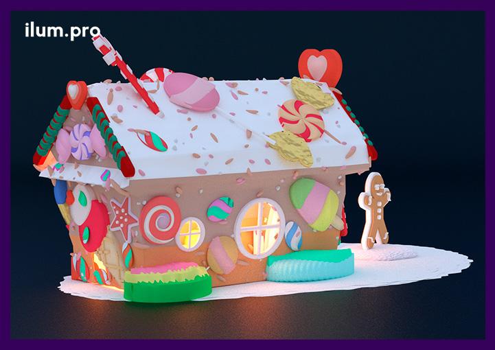 Сказочный домик для установки в ТЦ на Новый год