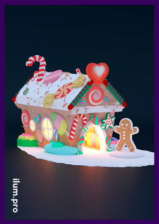 Детский сказочный домик для торгового центра