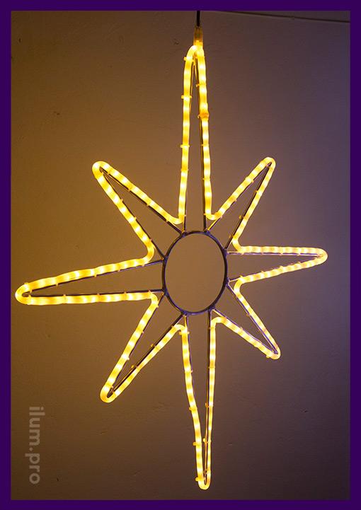 Световая фигура для украшения фасадов, деревьев и ёлок