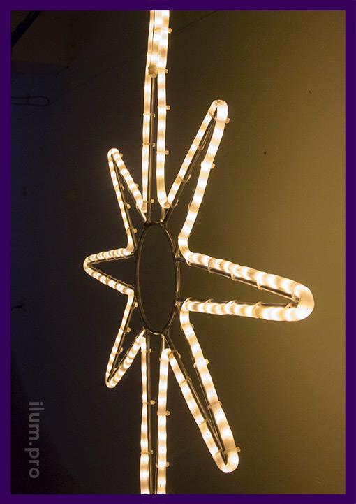 Новогодняя светодиодная фигура с подсветкой