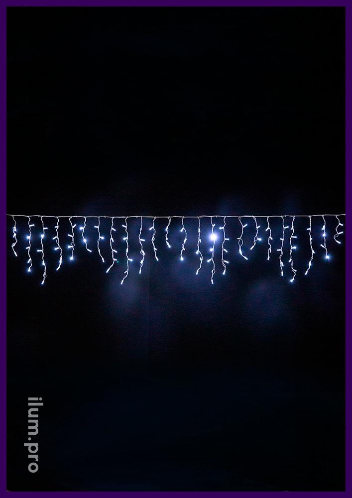Гирлянда светодиодная бахрома для улицы и интерьера на новогодние праздники и для повседневного использования