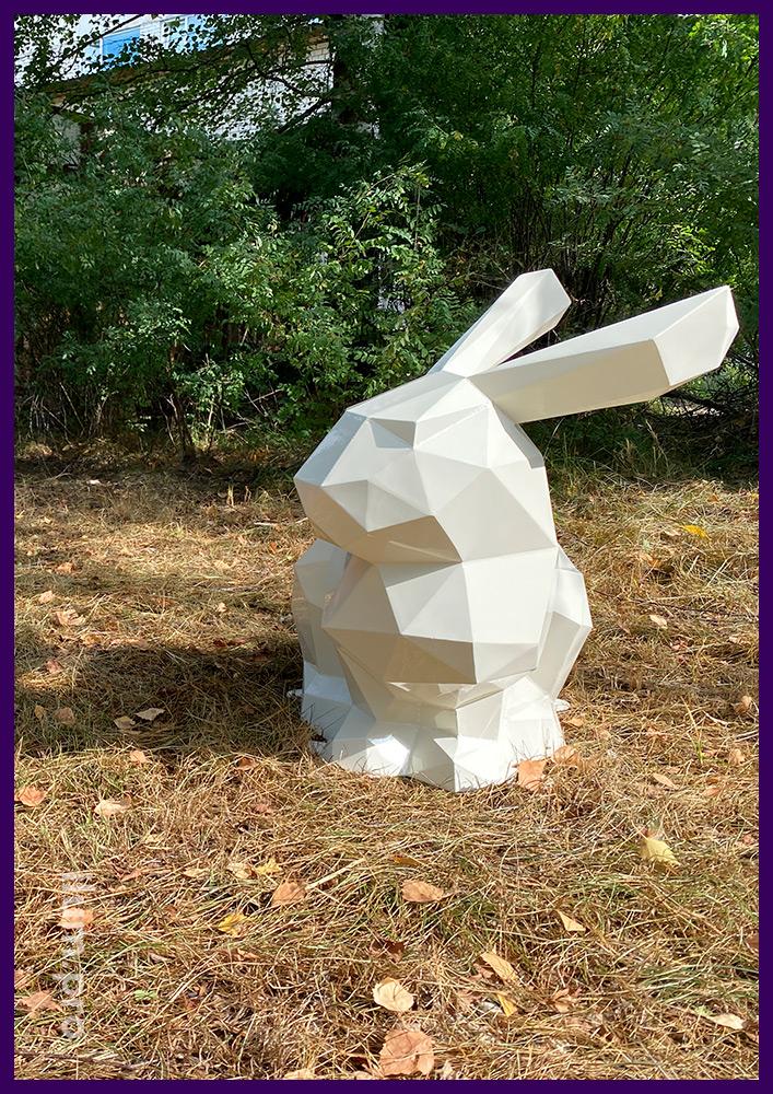 Скульптуры животных полигональные для украшения городских парков и скверов