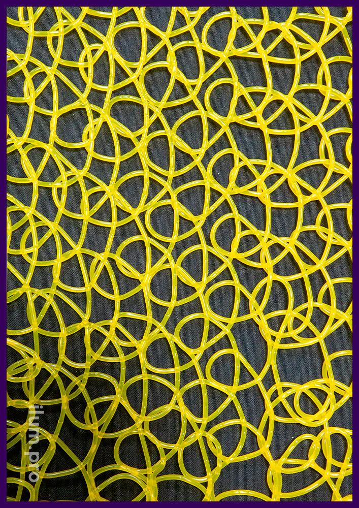 Пластиковая сетка из эластичного PVC, рулоны длиной 10 метров, ширина 1 метр, различные цвета